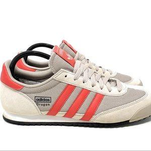 Adidas Men's Dragon Shoes Size 10 Brown-Orange